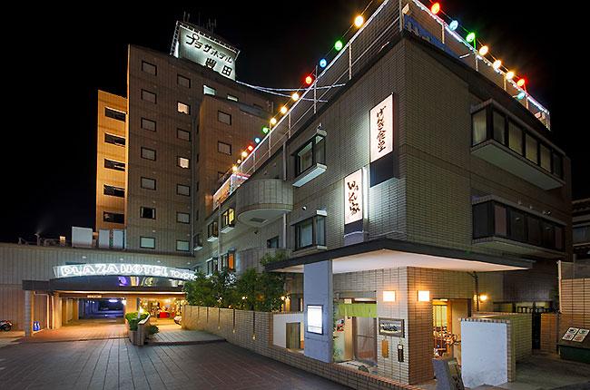 プラザホテル豊田 夜景